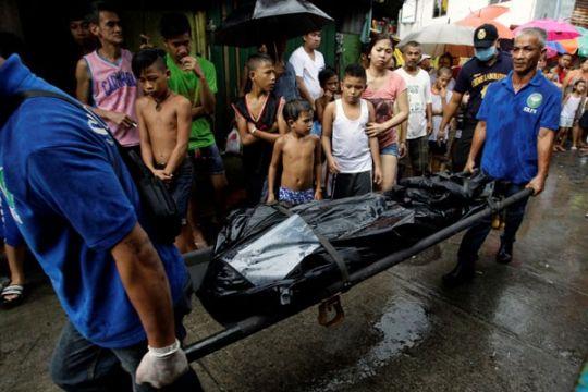 "Wali kota di Filipina penyelenggara ""walk of shame"" pengedar narkotika ditembak mati"