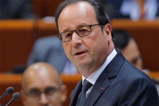 Presiden Prancis janji dukung Mesir perangi terorisme