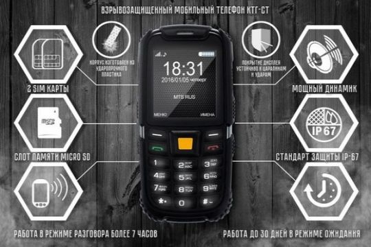 Setelah kasus ponsel meledak kini ada produk ponsel anti-ledak CTG-ST