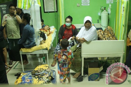 Puluhan santri dirawat di RSUD Temanggung keracunan makanan