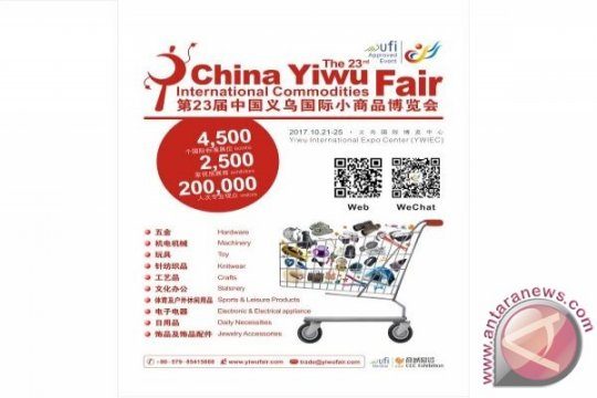 Yiwu Fair ke-22 siap digelar akhir Oktober 2016