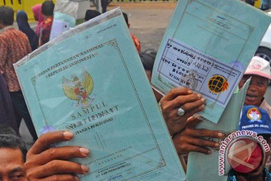Mojokerto percepat pembuatan sertifikat tanah warga