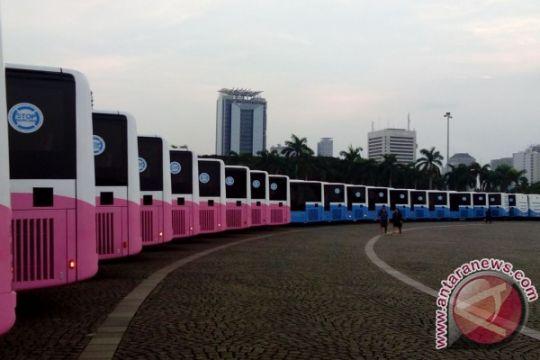 Pekerjaan JPO Tosari, TransJakarta Kota-Blok M dialihkan sementara