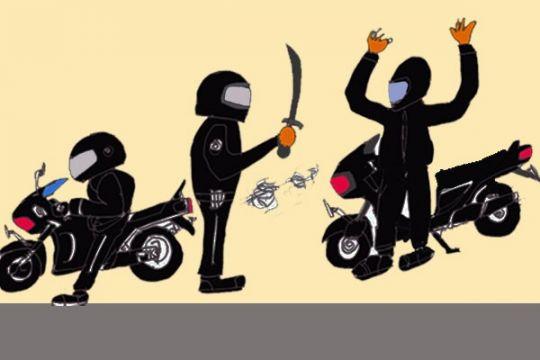 Polisi tangkap pencuri kendaraan bermotor lewat jejaring sosial