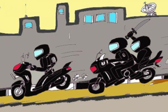 Polisi Tempilang meringkus komplotan begal sepeda motor