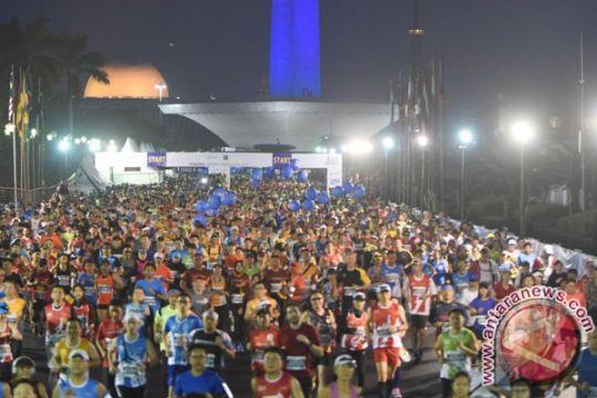 Dua polwan Cianjur ikut Kartini Run 2018 di Monas