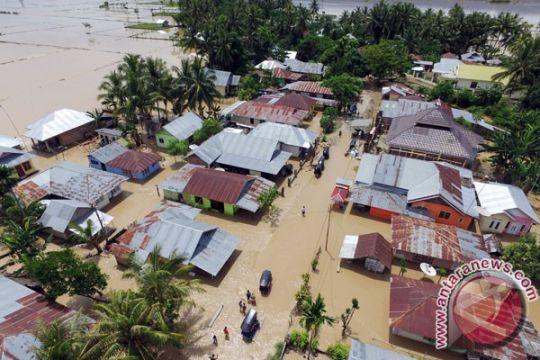 Banjir di Barito Utara meluas