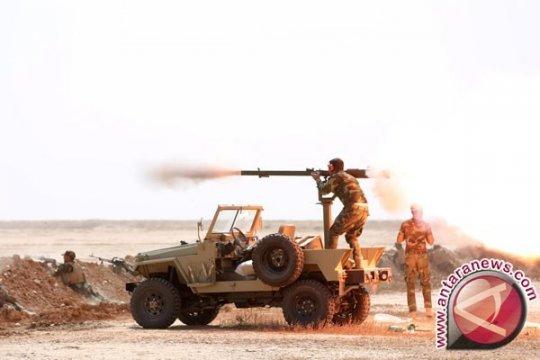 Roket ditembakkan ke area Kedubes AS di Zona Hijau Baghdad