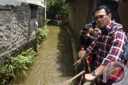 Ahok: butuh lahan atasi banjir di Jagakarsa