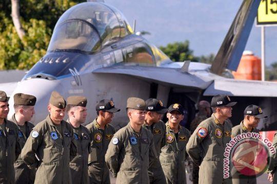 Latihan bersama TNI AU-Angkatan Udara Amerika Serikat ditutup