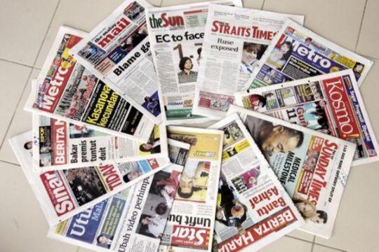 Media Malaysia beritakan unjuk rasa 4 November