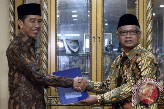 Muhammadiyah apresiasi komitmen Presiden Jokowi proses dugaan penistaan agama