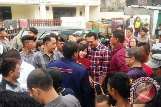 Ahok sosialisasi program KJP ke warga Petojo