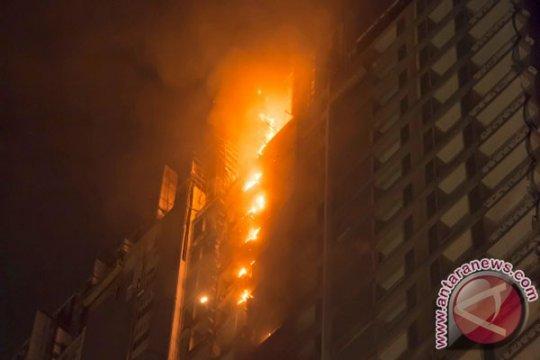 Dua orang terluka akibat kebakaran di Apartemen Kalibata