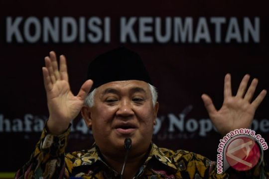 Alasan Din Syamsuddin tak ikut Aksi 212