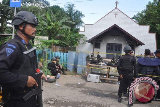 Pelempar benda diduga bom di gereja Samarinda sudah ditangkap