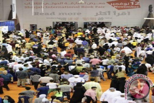 2,31 juta pengunjung dari 60 negara hadiri pameran buku terbesar di dunia yang digelar di Sharjah, Uni Emirat Arab