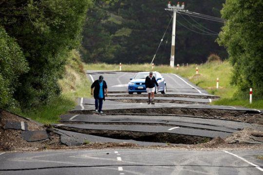 Gempa susulan 6,2 Skala Richter guncang Selandia Baru