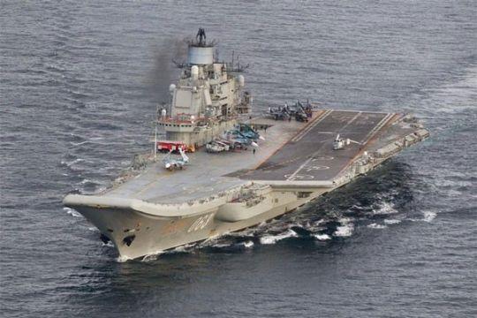 China gelar latihan perdana penembakan dari kapal induk