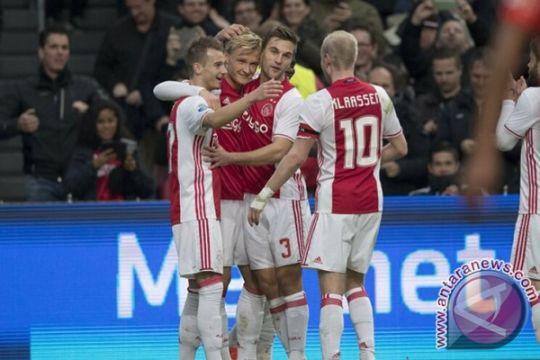 Ajax pesta lima gol tanpa balas ke gawang NEC