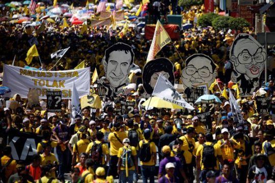 Polisi Malaysia pidanakan lima orang terkait 1MDB