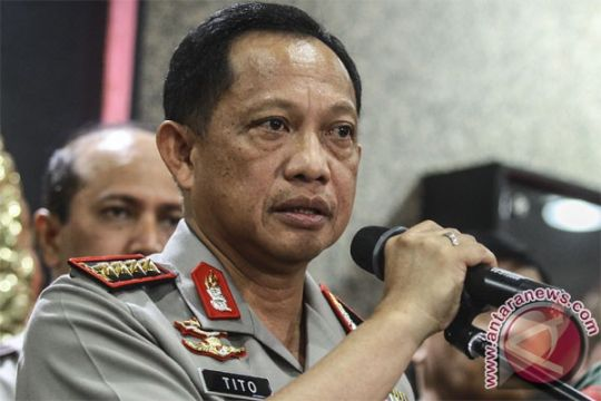 Kapolri tegaskan kasus terorisme Bekasi bukan pengalihan isu