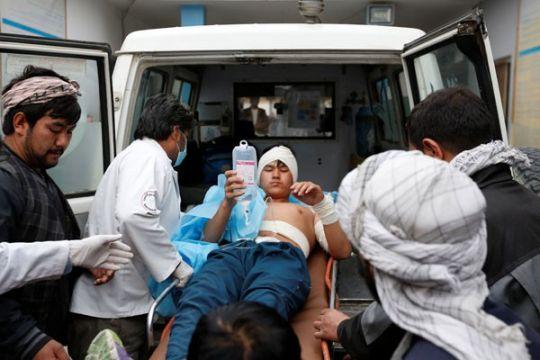 Serangan di rumah sakit militer Afghanistan tewaskan 30 orang