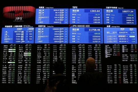Saham Tokyo dibuka melambung, ditopang Wall Street dan data manufaktur
