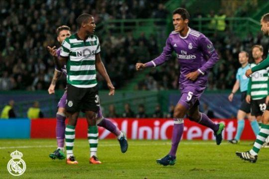 Kalahkan 10 pemain Sporting 2-1, Madrid ikuti jejak Dortmund