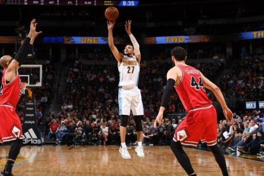 Jamal Murray bawa Nuggets kalahkan Bulls 110-107