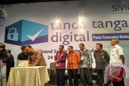 Kemenkominfo: Tanda tangan digital, tangkal kejahatan siber