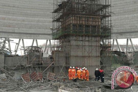 Korban akibat runtuhnya konstruksi pembangkit listrik China 74 orang