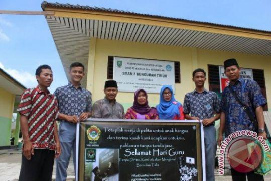 LDII gelar Gerakan Menghormati Guru di wilayah terpencil