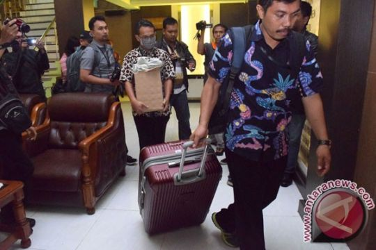 Polres Jombang jaga ketat kendaraan sitaan KPK