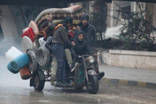 Palang Merah evakuasi 3.000 penduduk Aleppo