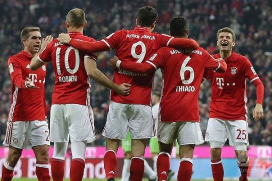 Bayern gulung Cologne 3-0