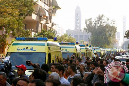 Pelaku bom bunuh diri di gereja Tanta Mesir teridentifikasi