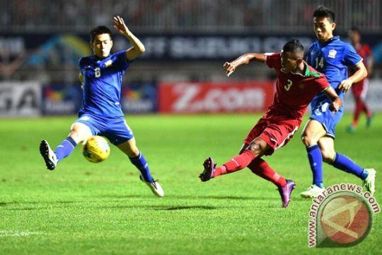 Indonesia tertinggal 0-1 di babak pertama