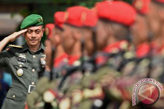Kepala Staf TNI AD lantik 676 perwira muda