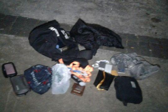 Tas mencurigakan di sekitar Monas ternyata isinya barang pribadi