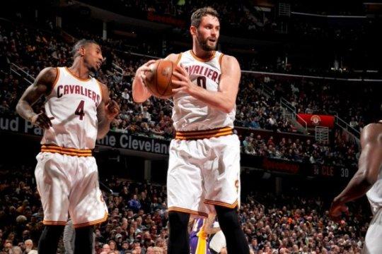 Kevin Love bawa Cavaliers kalahkan Lakers 119-108