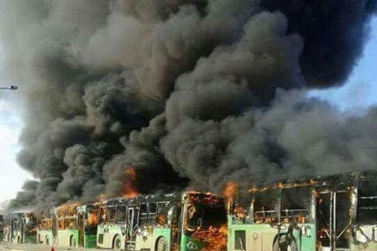 Serangan udara tewaskan sedikit-dikitnya 44 di Idlib, Suriah