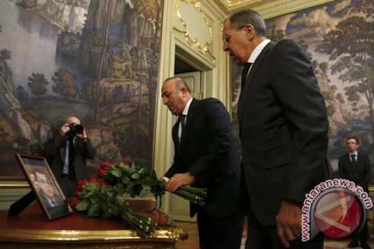 Menlu Turki-Menlu Rusia bertemu sebelum pertemuan puncak
