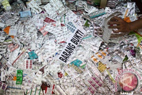 Polrestro Bekasi sita 12.000 butir obat kedaluwarsa