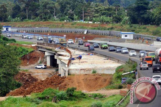 Pengadaan lahan untuk pembangunan tol Bogor-Sukabumi selesai 2017