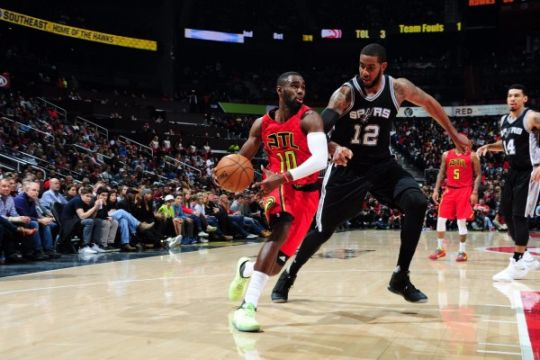 """Hawks atasi Spurs 114-112 lewat """"overtime"""""""