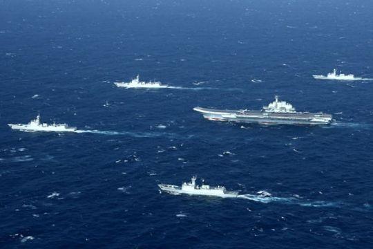 China luncurkan kapal induk buatan dalam negeri
