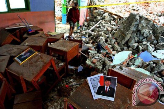 Kerugian bencana di Sukabumi Rp4,5 miliar selama Januari
