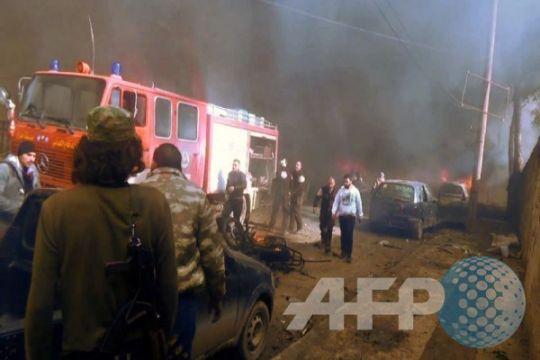 Ledakan truk tanki BBM tewaskan puluhan orang di Suriah