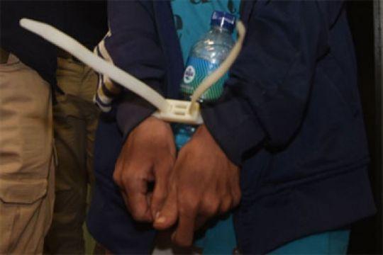 Polisi tangkap sopir angkot curi motor
